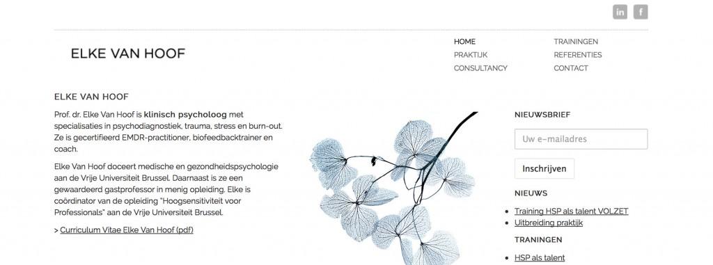 webdesign Xclusief | Pr. dr. Van Hoof