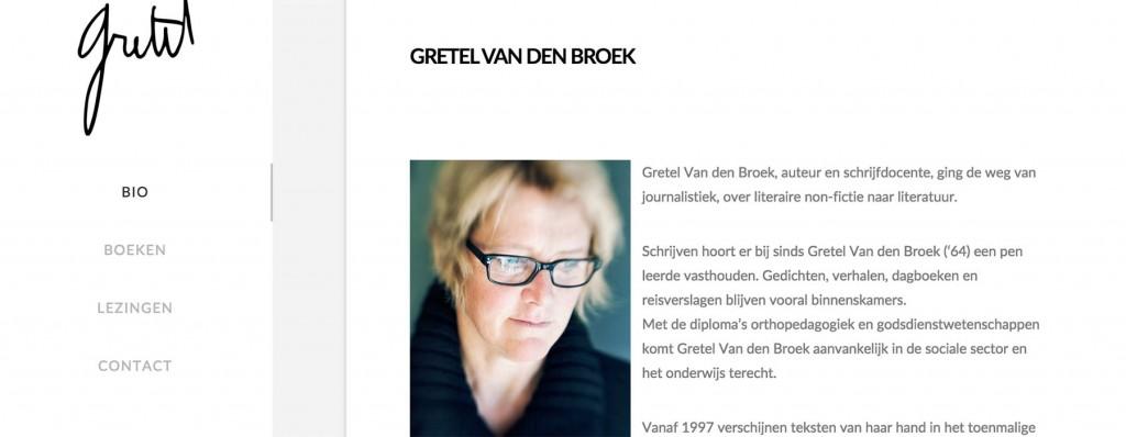 webdesign & website Gretel Van den Broek