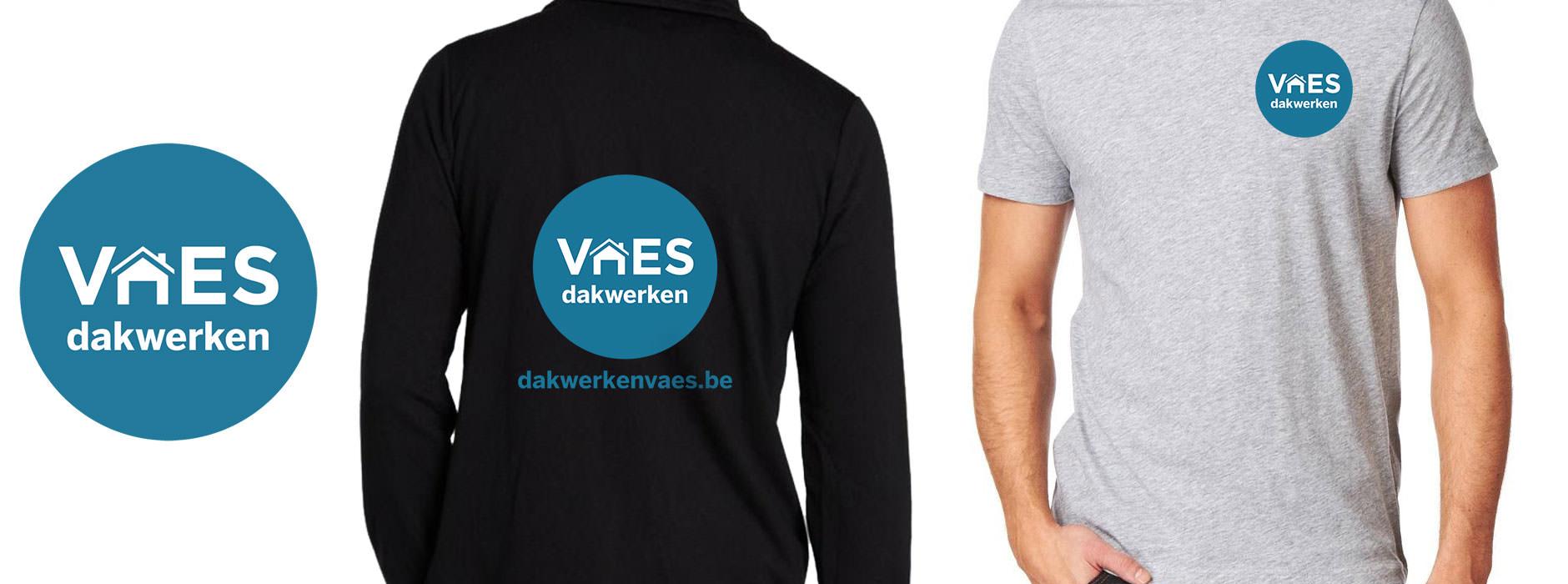logo design dakwerken Vaes | Xclusief