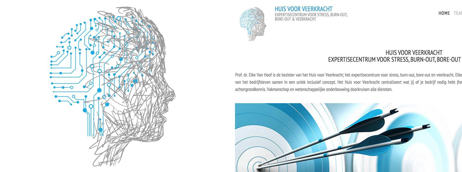 logo design Huis voor Veerkracht | Xclusief