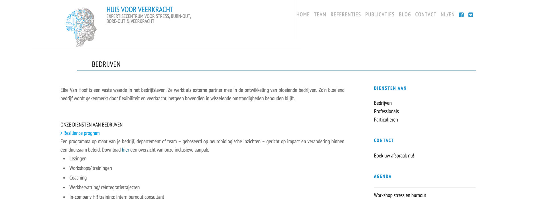 webdesign & website Huis voor Veerkracht | Xclusief