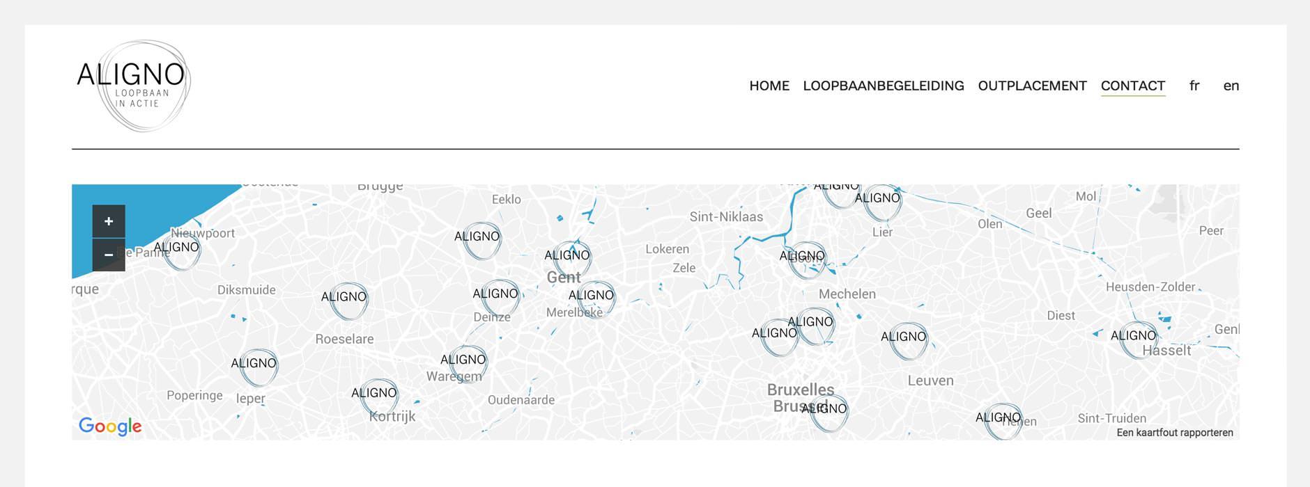 webdesign & website Loopbaan in actie | Xclusief