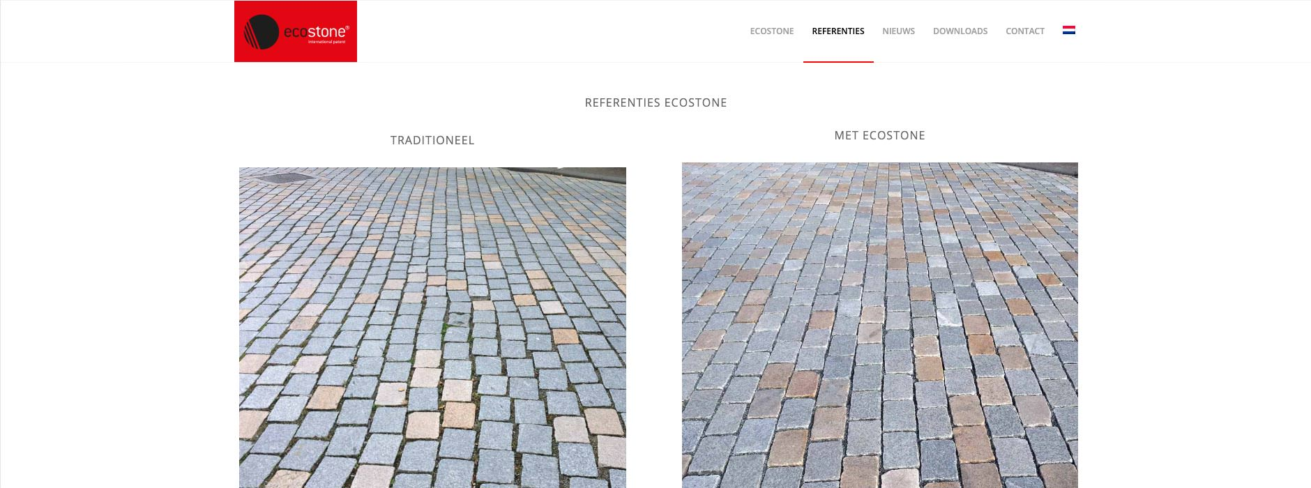 webdesign & website Ecostone | Xclusief